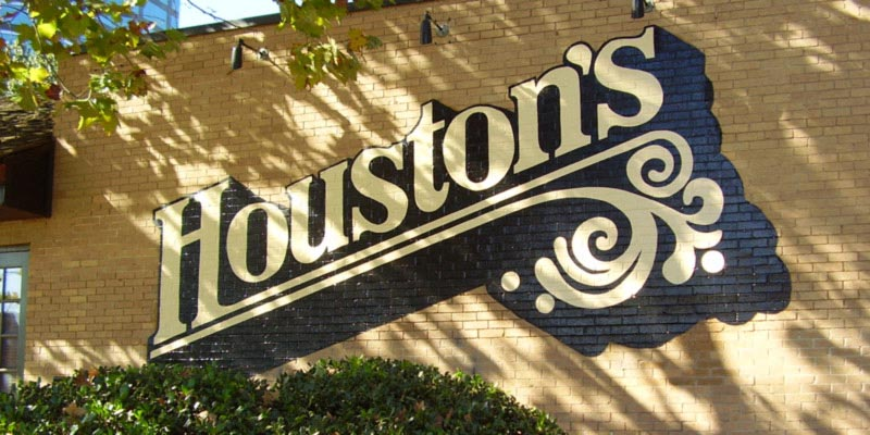 early Houston's sign